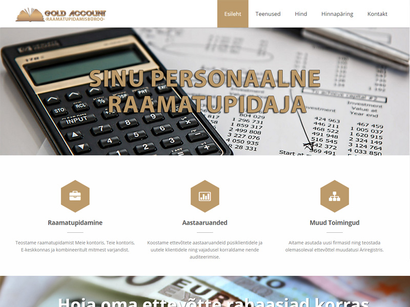 Gold Account raamatupidamisbüroo