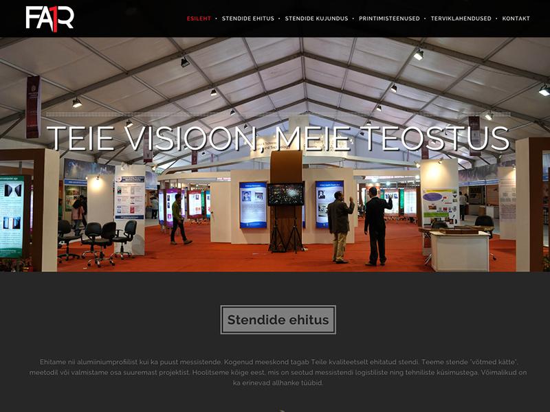 Fair1 veebileht